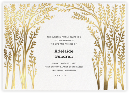 Louisa II - White - Paperless Post - Celebration invitations