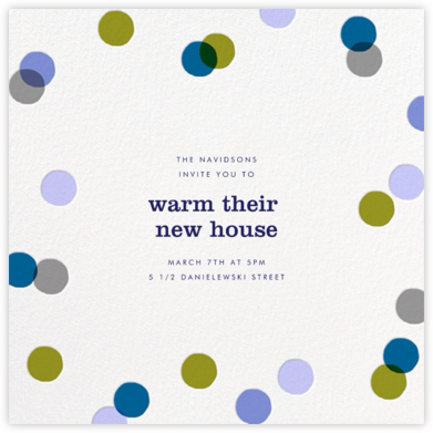 Carnaby - Blue - Paperless Post - Housewarming party invitations