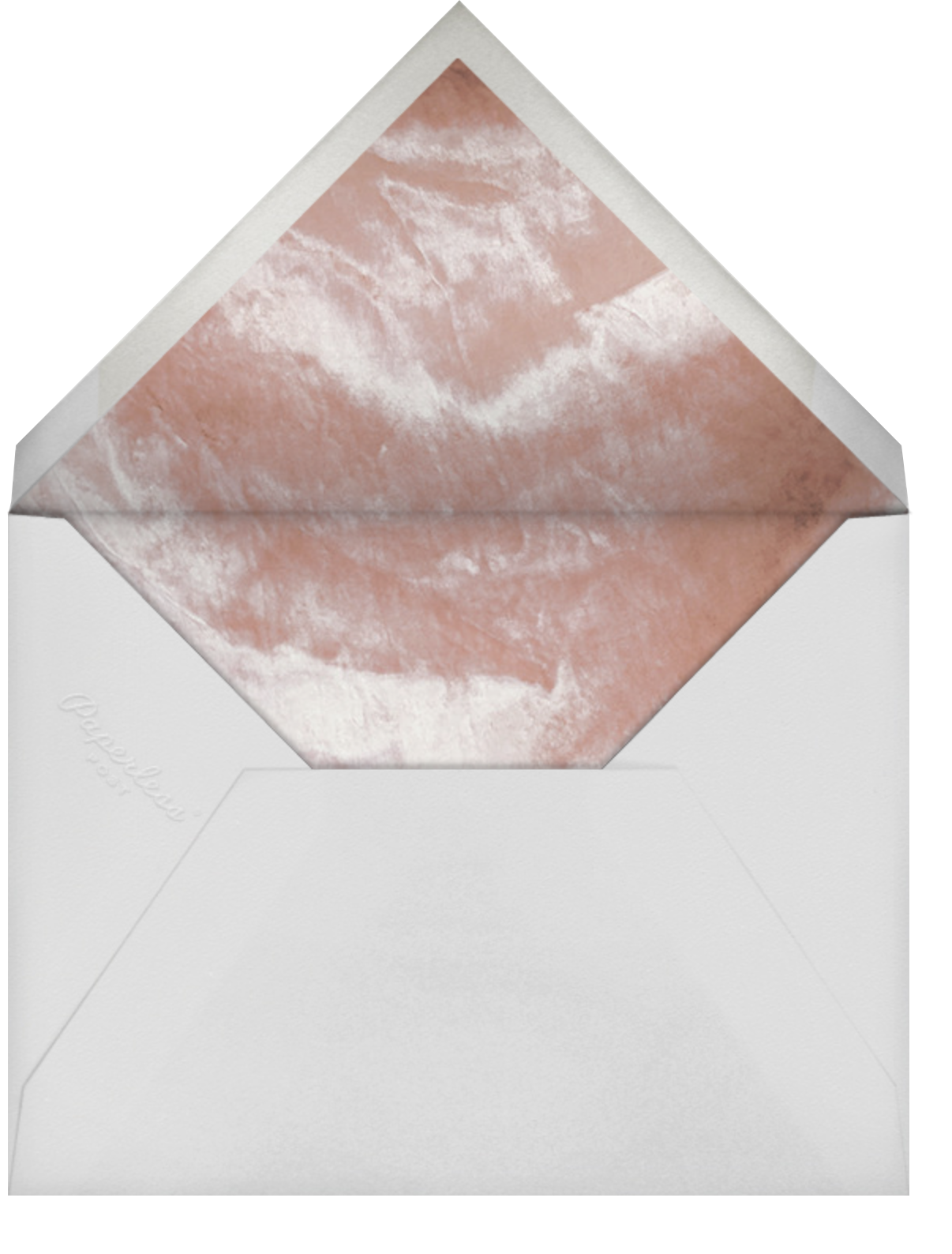 Ando Photo - Gold - Paperless Post - Wedding - envelope back