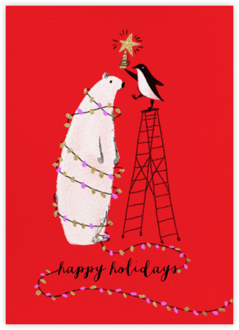 O Tannenbear (Tall) - Paperless Post - Holiday cards
