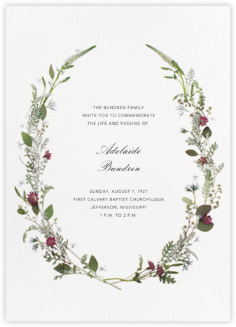 Winter Wilds - Paperless Post - Celebration invitations