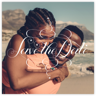 Signum Photo Save the Date - Paperless Post - Save the dates