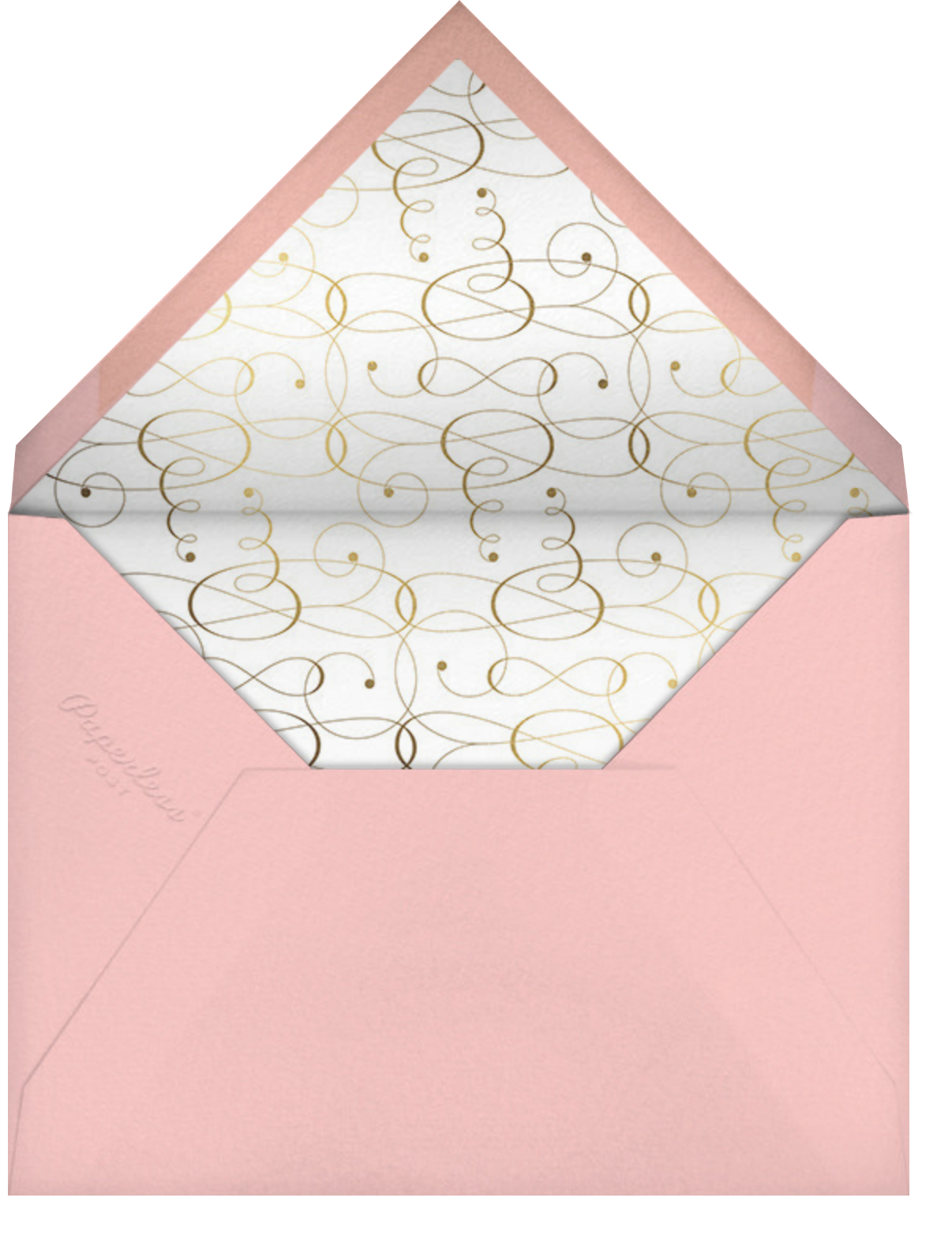 Signum Save the Date - Pavlova - Paperless Post - Save the date - envelope back