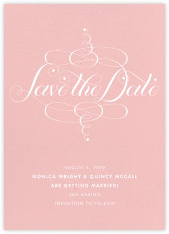 Signum Save the Date - Pavlova - Paperless Post - Save the dates