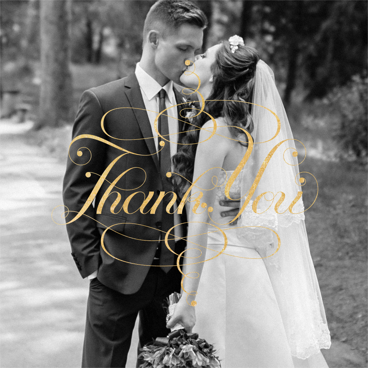 Signum Photo Thank You - Paperless Post - Wedding thank you notes