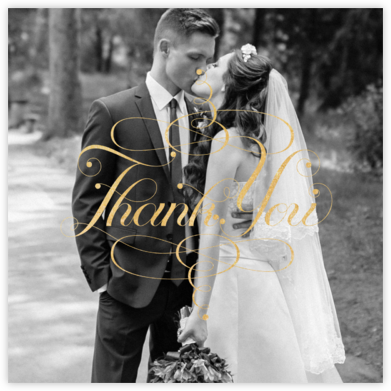 Signum Photo Thank You - Paperless Post - Online Cards