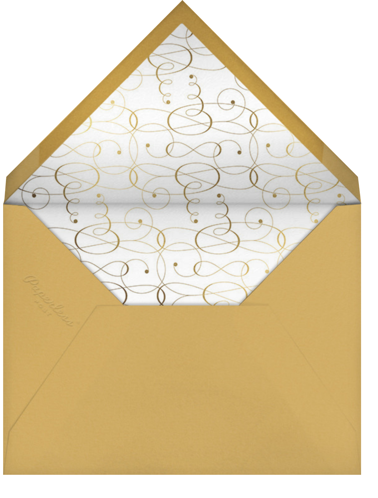Signum Thank You - Paperless Post - Thank you - envelope back