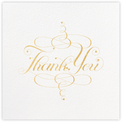 Signum Thank You - Paperless Post - General thank you notes