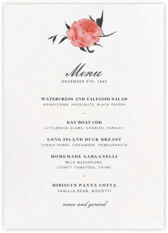 Petit Chou (Menu) - Paperless Post - Wedding menus and programs - available in paper