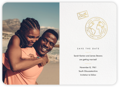 Aerogramme - Paperless Post - Destination Save the Dates