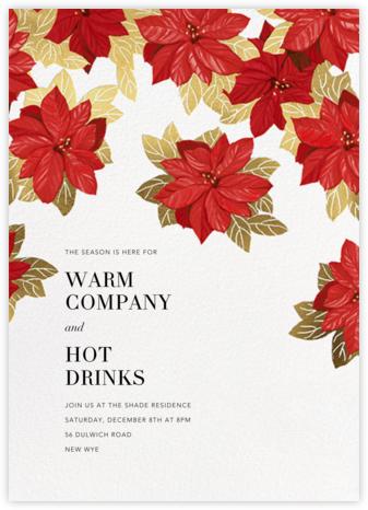 Étoile de Noël - White - Paperless Post - Holiday invitations