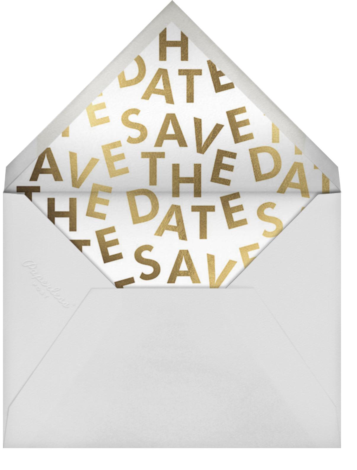Opening Titles - Paperless Post - Envelope