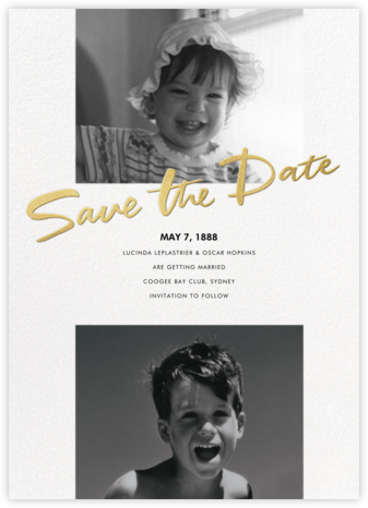 Ours Truly - Paperless Post - Save the dates