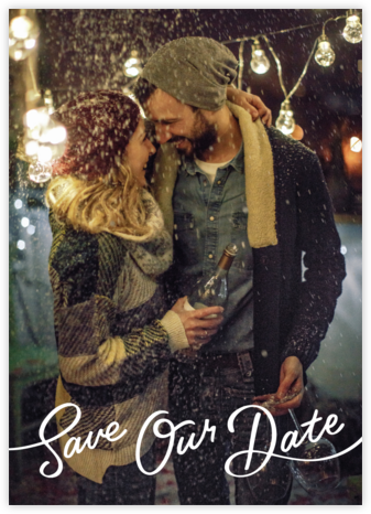 Sincerely - Paperless Post - Photo save the dates