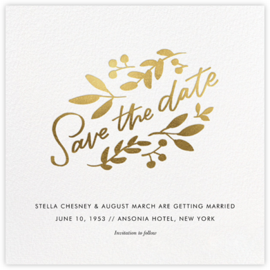 Wildwood - Paperless Post - Save the date cards and templates