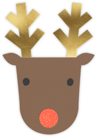 Golden Antlers - Meri Meri - Holiday cards
