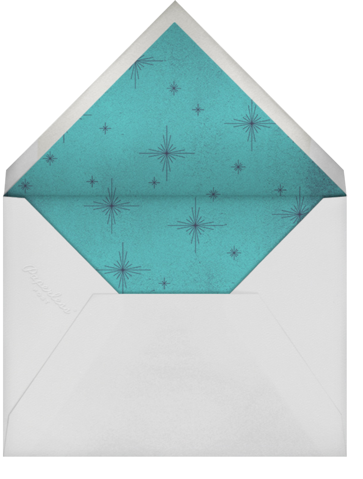 The Great Tree - Paperless Post - Holiday cards - envelope back