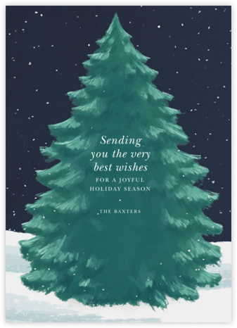 The Great Tree - Paperless Post - Company holiday cards