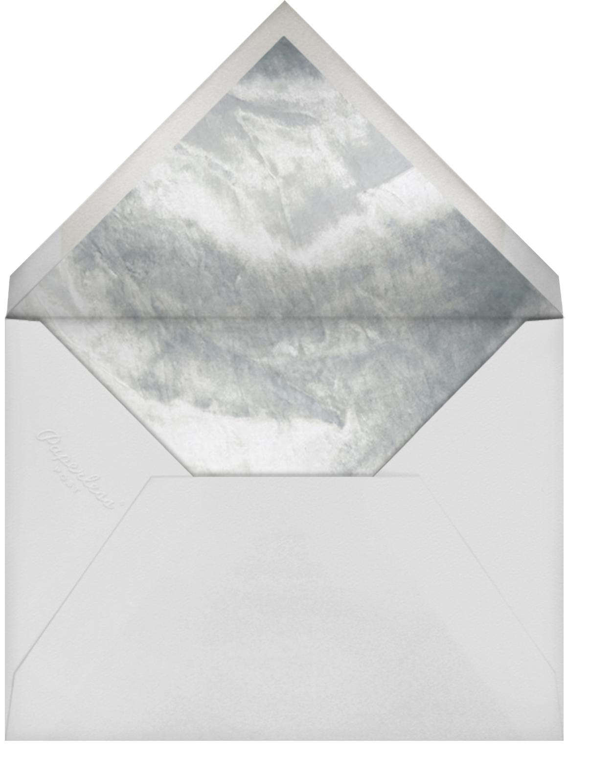 Ando Photo - Rose Gold - Paperless Post - Wedding - envelope back