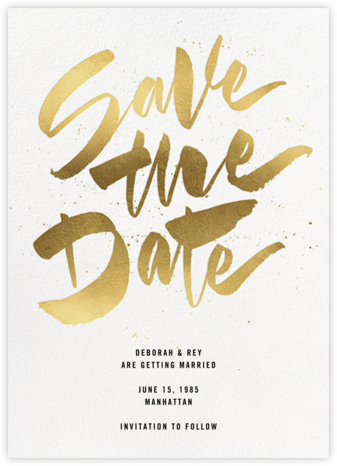 Johanna - White - Paperless Post - Modern save the dates