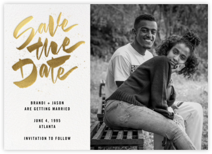Johanna Photo - White - Paperless Post - Modern save the dates