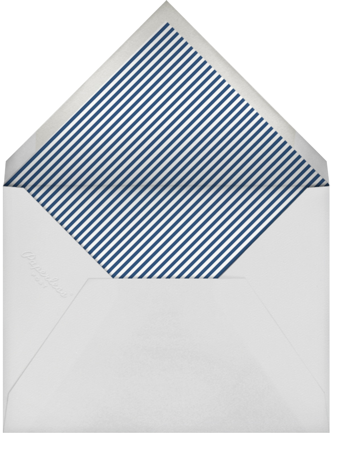 Mille Feuille - Dark Blue - Paperless Post - All - envelope back