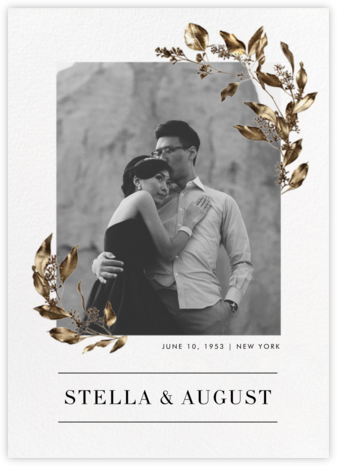 Levasseur - Paperless Post - Wedding Invitations