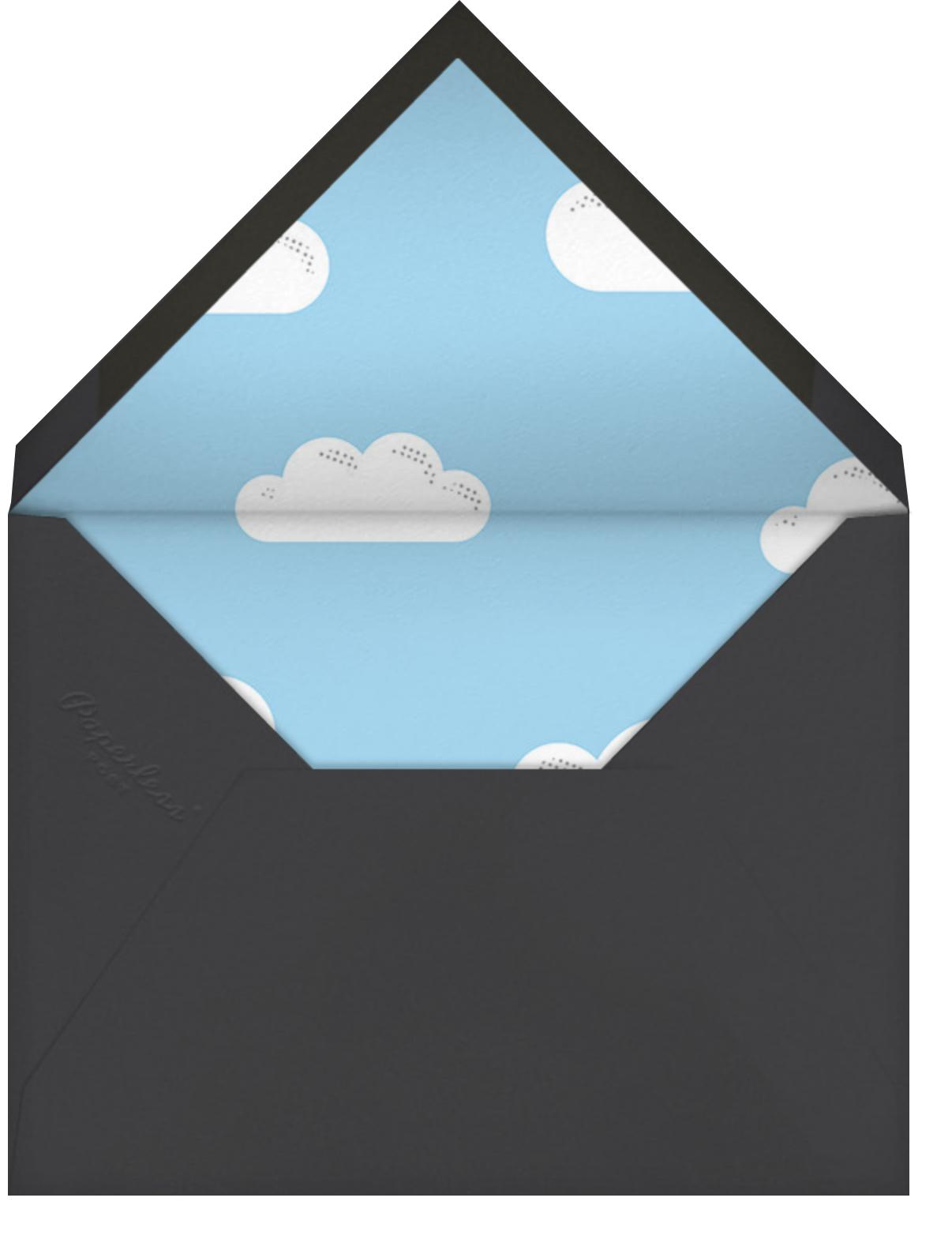 Airborne - Paperless Post - Kids' birthday - envelope back