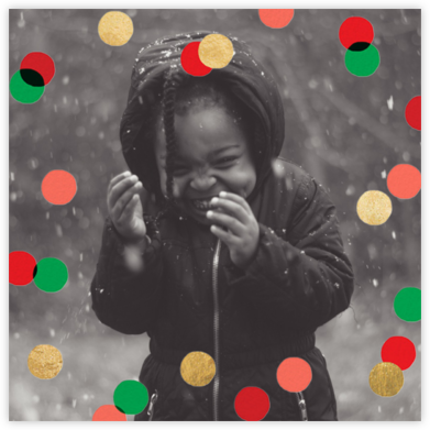 Carnaby (Photo) - Red/Green - Paperless Post - Affordable Christmas Cards