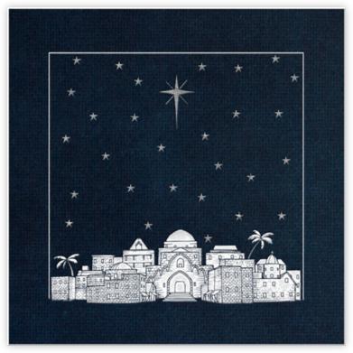 Bethlehem Sky - Midnight | square