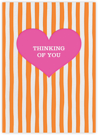 Glory of Love - Orange - Jonathan Adler - Just Because Cards