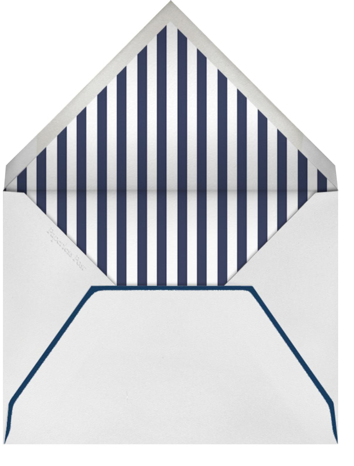 Glory of Love - Blue - Jonathan Adler - Sympathy - envelope back