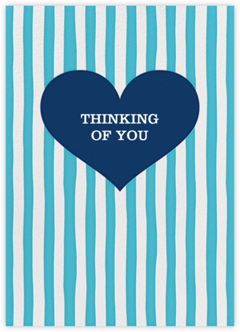 Glory of Love - Blue - Jonathan Adler - Online Cards