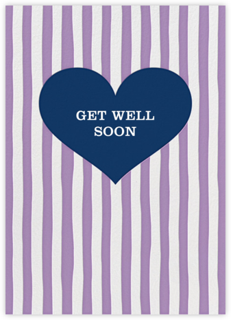 Glory of Love - Purple - Jonathan Adler - Get well cards