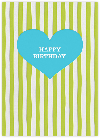 Glory of Love - Green - Jonathan Adler - Birthday