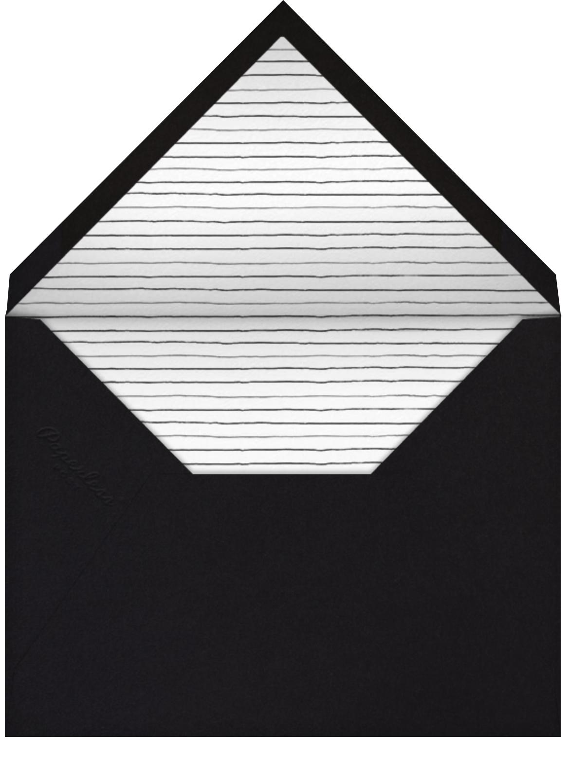 Medium Format Film - Square - Paperless Post - Adult birthday - envelope back