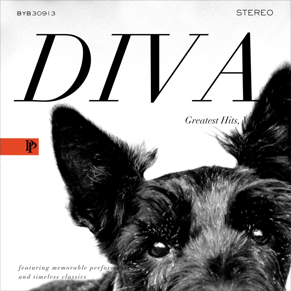 Diva Album - Black - Paperless Post - Greeting cards