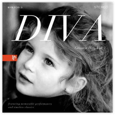 Diva Album - White - Paperless Post - Online Party Invitations
