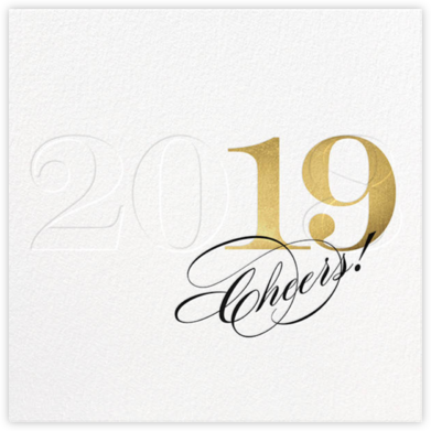 New Number (Greeting) - bluepoolroad - New Year cards
