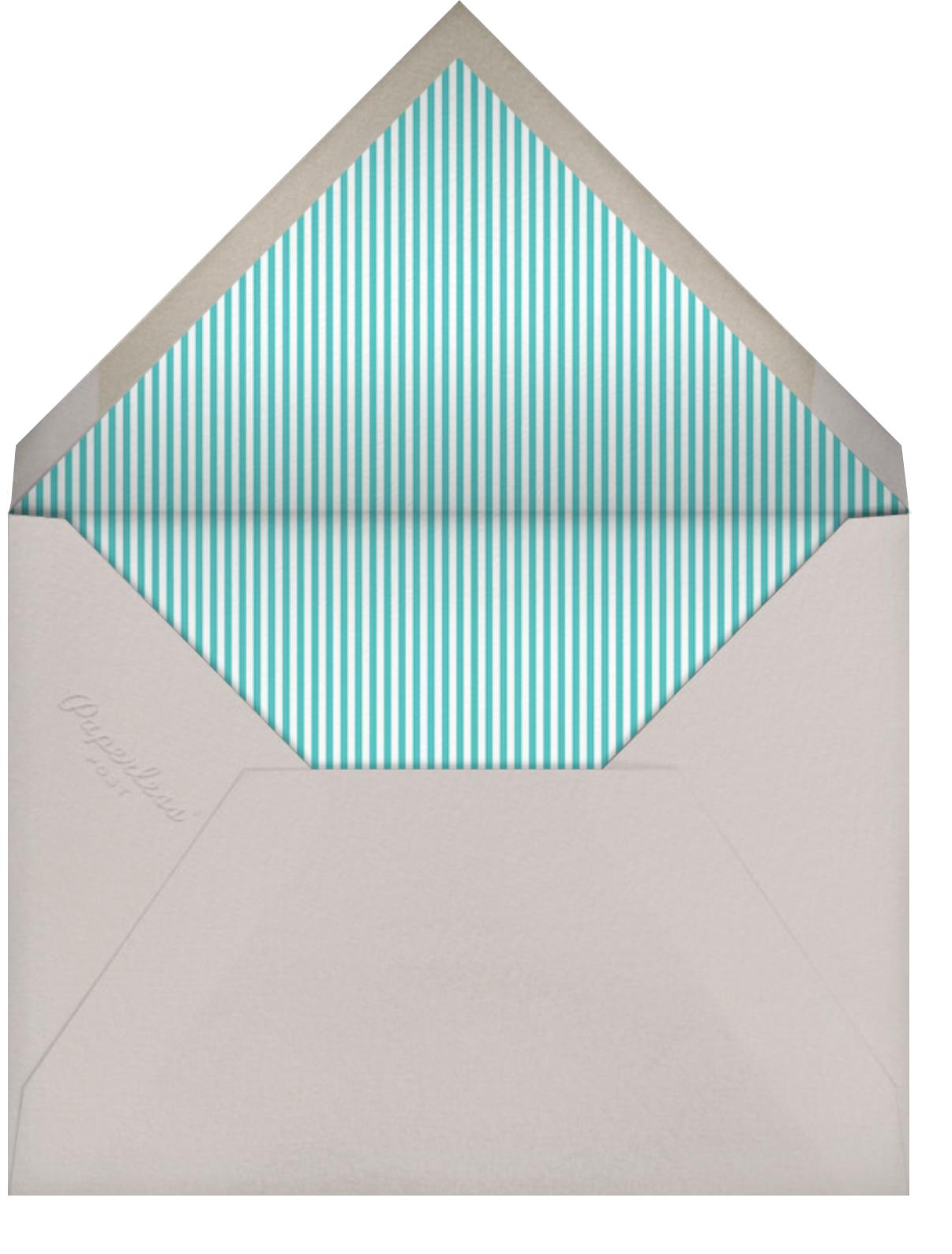 Little Heart Halo (Stationery) - Pink - Little Cube - Kids' stationery - envelope back