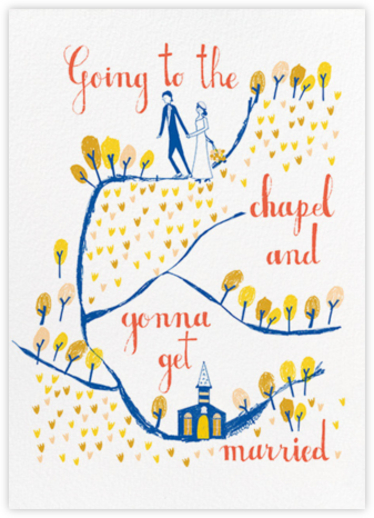 Going to the Chapel - Mr. Boddington's Studio - Online Greeting Cards