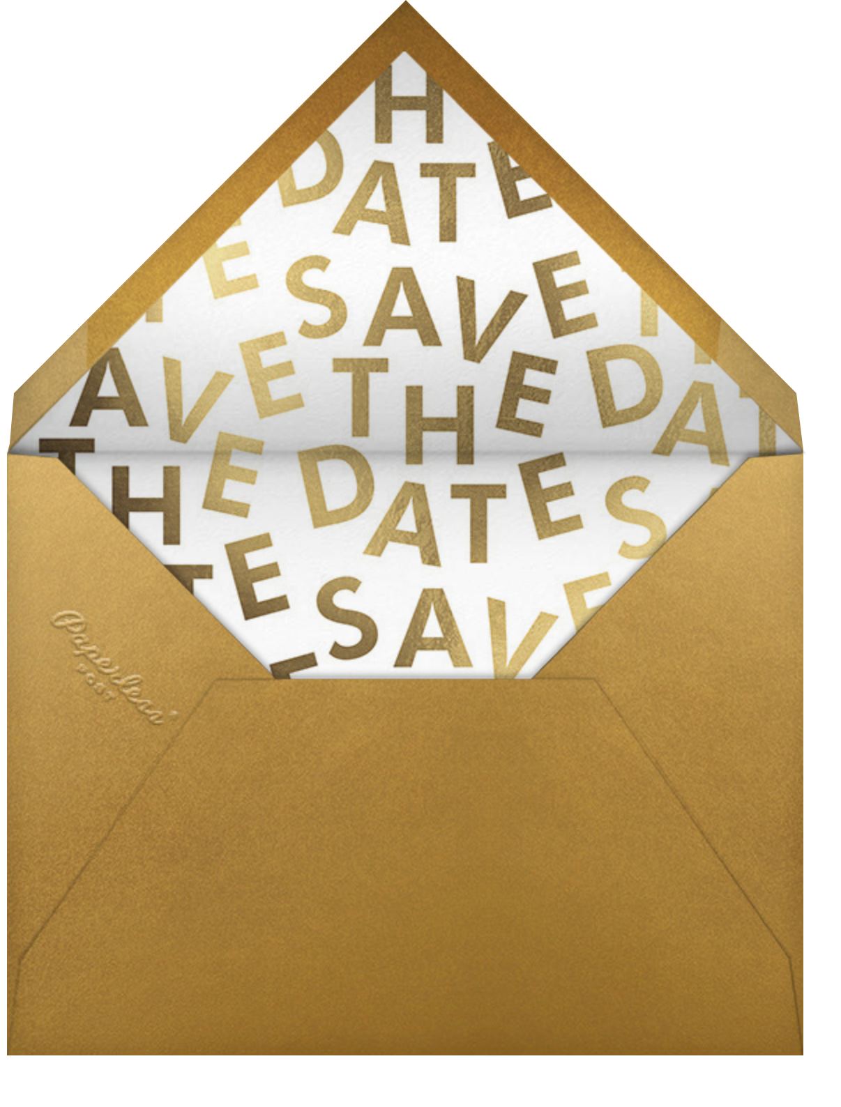 Brand New Day - Paperless Post - Change the date - envelope back