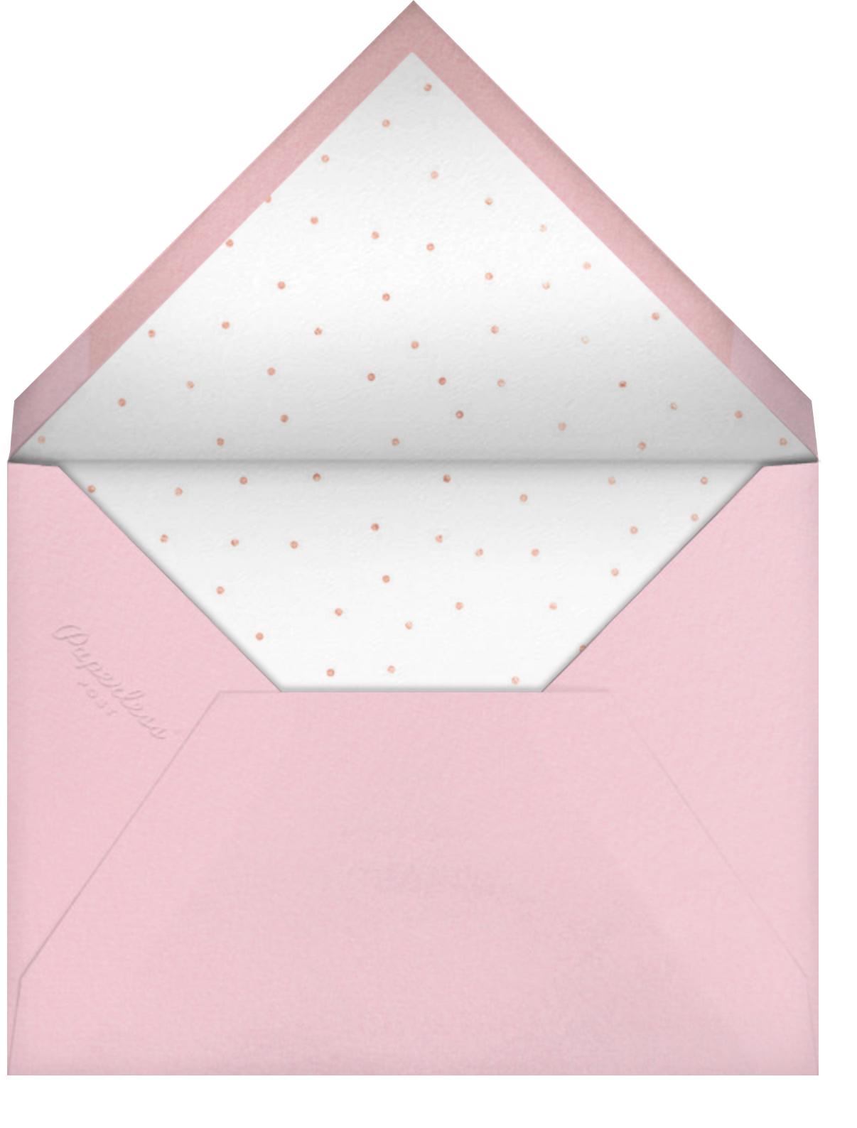 Mermaids in Waiting - Meringue - Meri Meri - Mermaid birthday invitations - envelope back