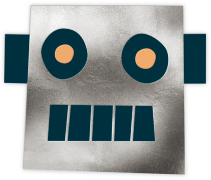 Mr. Robot - Meri Meri - Online Kids' Birthday Invitations