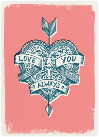Cupid's Arrow - Hello!Lucky - Love Cards