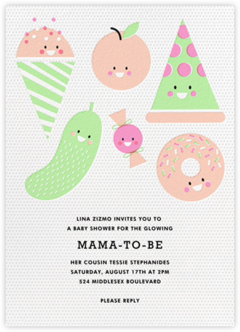 Snack Pack - Hello!Lucky - Baby Shower Invitations