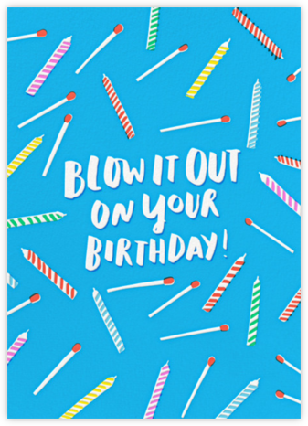 Birthday Blowout - Hello!Lucky -