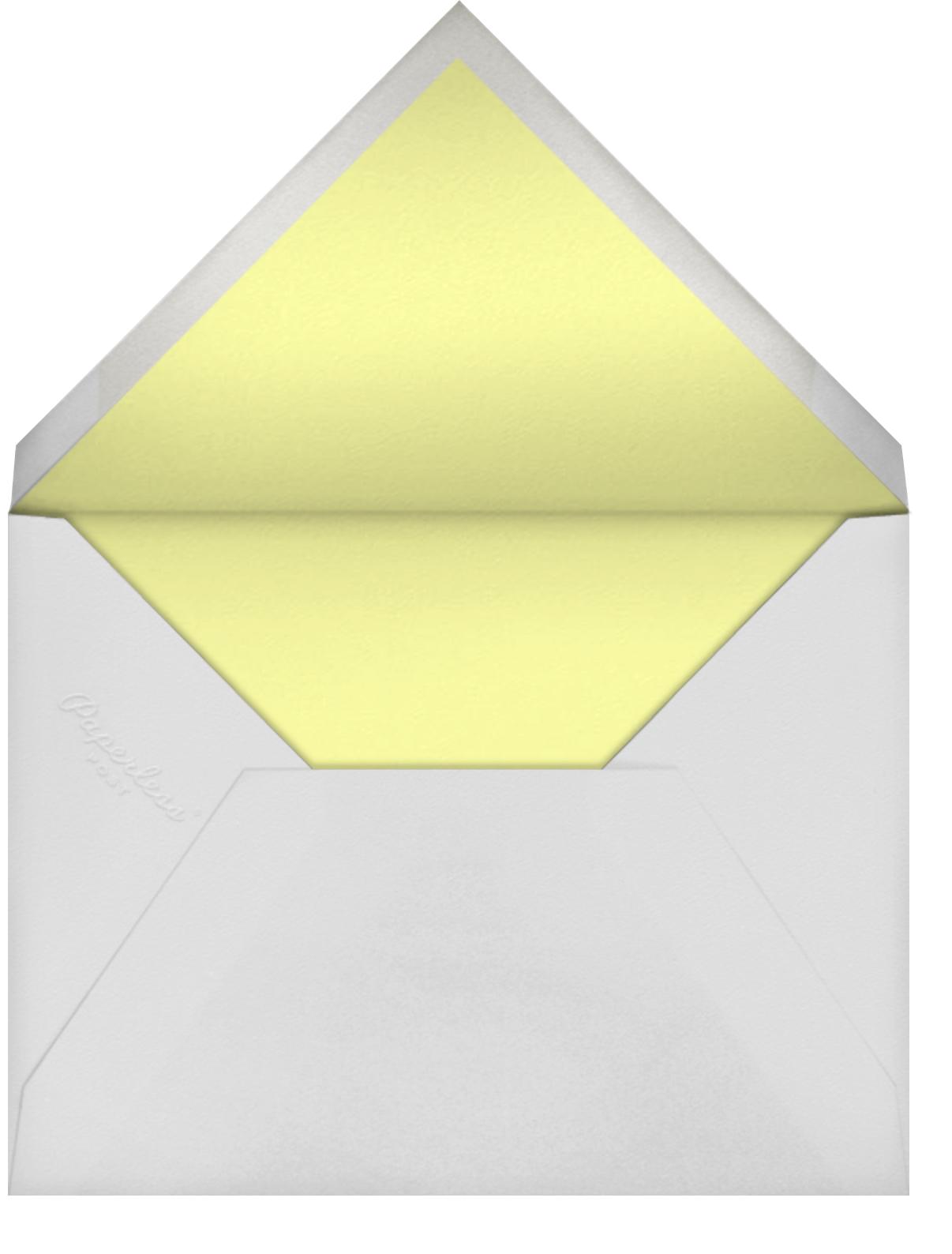 Full-Page Photo (Double-Sided) - Green Velvet - Paperless Post - null - envelope back