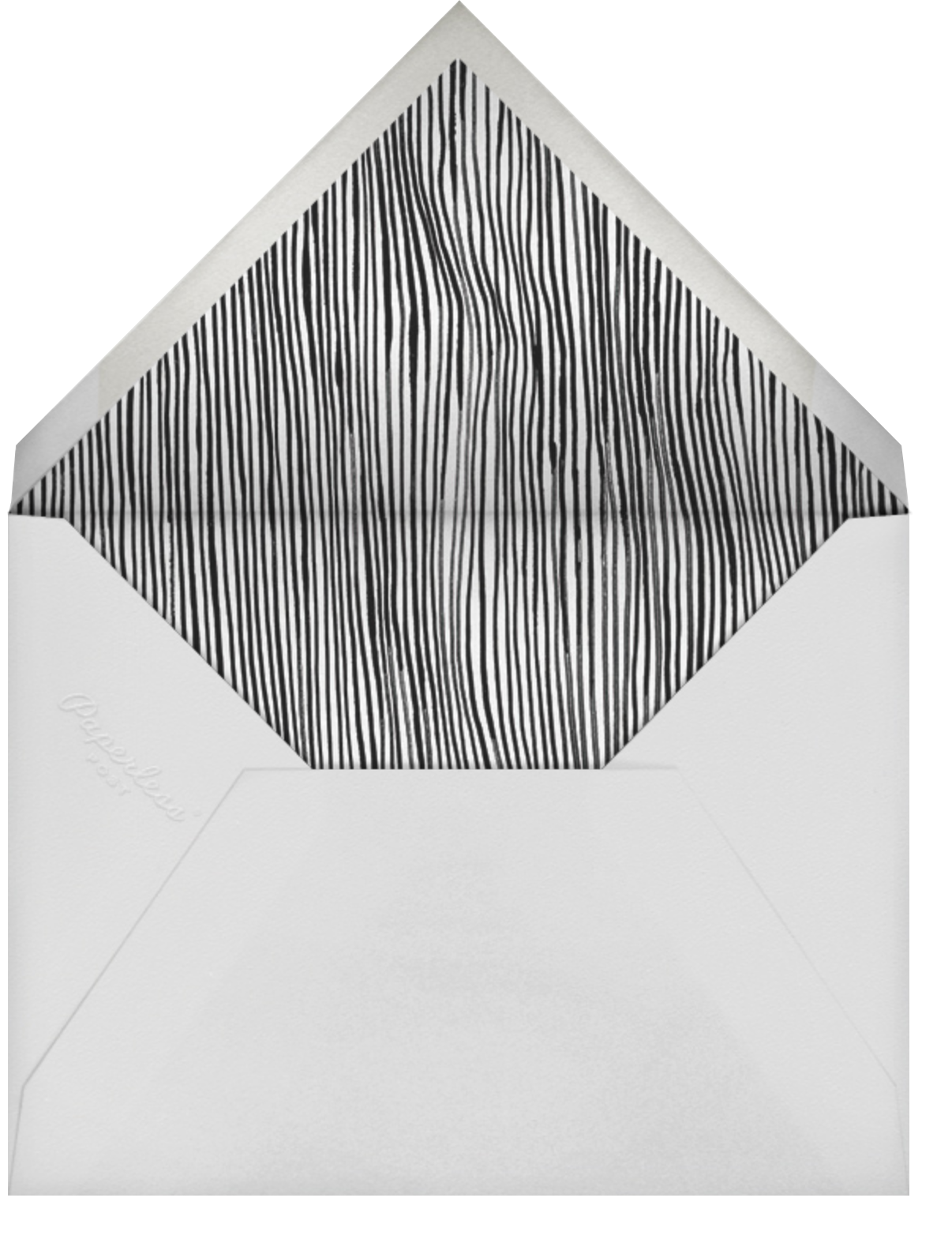 Appose - Kelly Wearstler - Save the date - envelope back