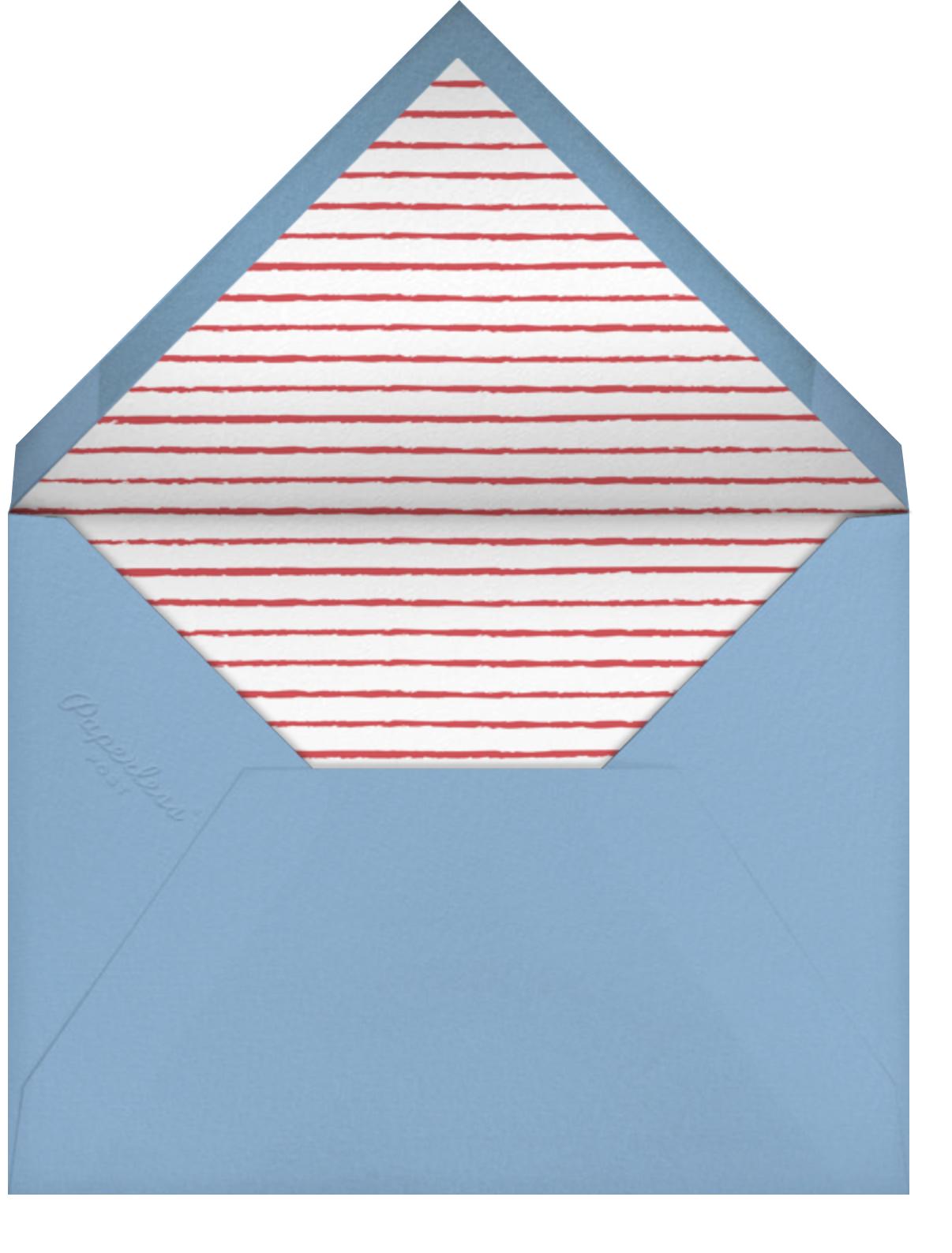 FOUL Jurassic Five - Meri Meri - null - envelope back